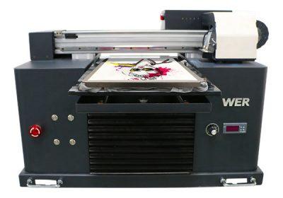 a3 tamanho multi-color cama plana tipo t-shirt dtg printer